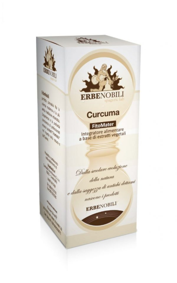 Spagyric Health Supplement Curcuma - An Ebernobili supplement product.