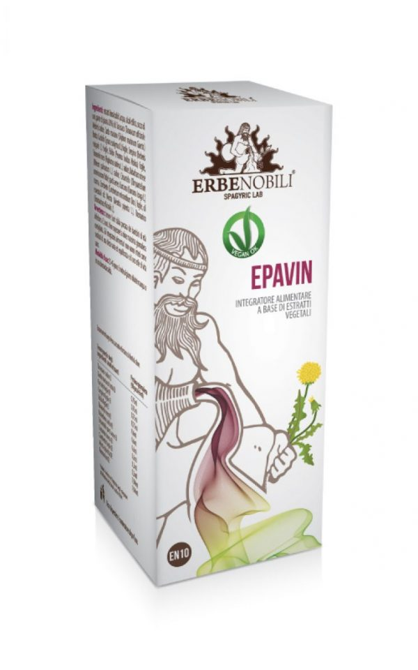 Spagyric Health Supplement Epavin, an Ebernobili supplement product.