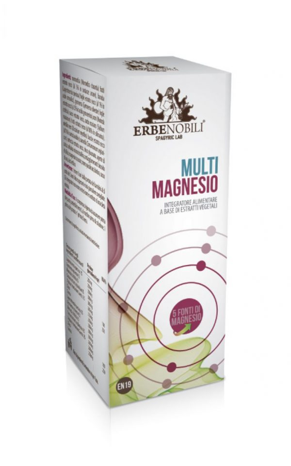 Spagyric Health Supplement Multi Magnesio, an Ebernobili supplement product.