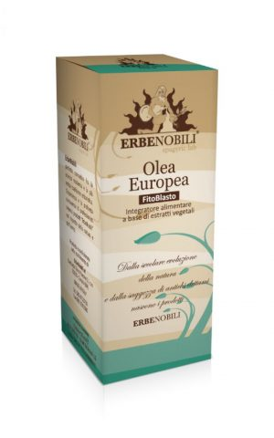 Spagyric Health Supplement Olea Europea, an Ebernobili supplement product.